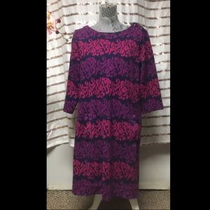 💕💜Lily Pulitzer Long Sleeved Midi Dress 💜💕